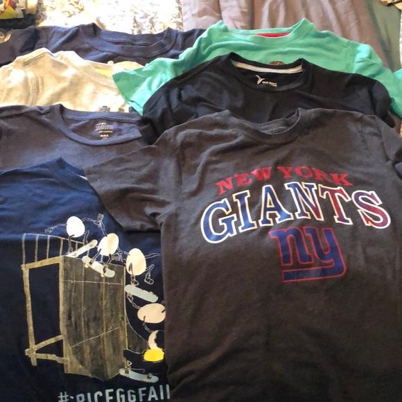 Kids T-Shirt Boys Tee Brooklyn Top Crew Neck Polo Shirt Short Sleeve 2-13Y BNWT